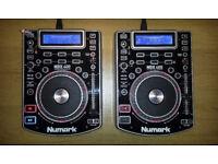 2x Numark NDX 400 CDJ USB/MP3 Players (like new)