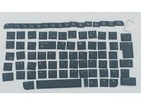 Laptop Keyboard Keys - Bulk Lot - Used - From HP Pavilion - Keyboard Model AT8A.