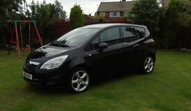 vauxhall meriva exclusive 14i 2011 hartlepool
