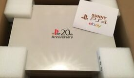 Sony PS4 20th Anniversary Special Edition Brand New Boxed Sealed MINT Bargain!