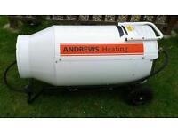 Andrews Heating Industrial Propane Heater.
