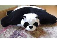 Soft Panda Floor Cushion-Needs A Loving Home
