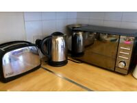 Russel Hobbs Kettle and Toaster Set - second hand