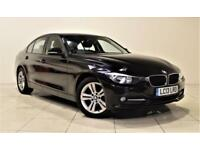 BMW 3 SERIES 2.0 318D SPORT 4d 141 BHP + ONLY 1 OWNER FROM NEW (black) 2013