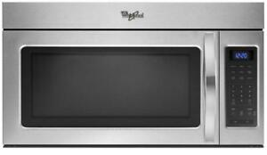 Whirlpool YWMH31017AS 1.7 cu. ft. Microwave Hood Combination with 2-Speed Fan