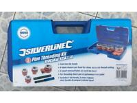 Silverline Pipe Threading Kit