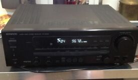 Kenwood KR-V6050 5x65 watts hifi receiver with phono input and remote