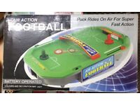 AIR ACTION FOOTBALL GAME £8 Bargain!