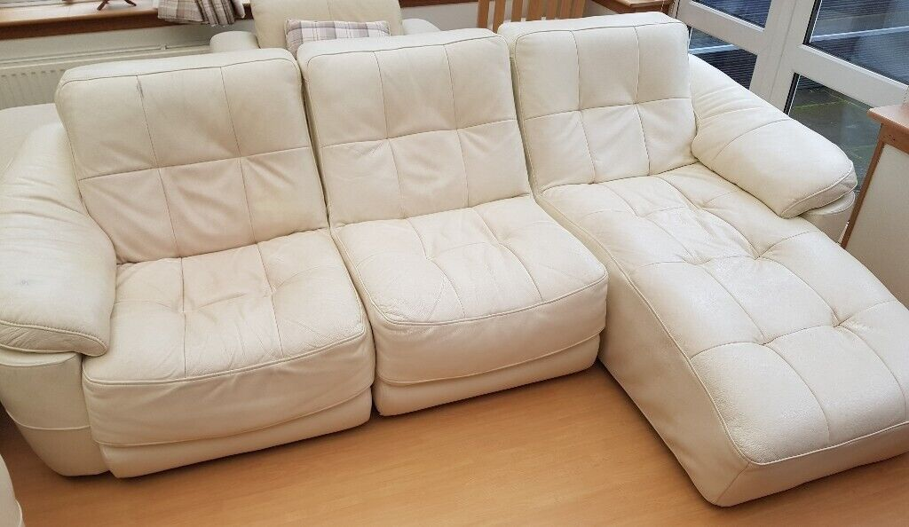 Swell Dfs Sofa 3 Piece Chaise End Sofa 2X Recliner Armchairs Cream Col In Elgin Moray Gumtree Camellatalisay Diy Chair Ideas Camellatalisaycom