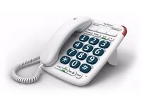 BT BIG BUTTON 200 Home Phone Telephone Landline
