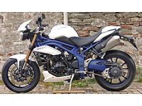 Limited Edition SE (Special Edition) Speed Triple 1050cc, 2013 13 Reg.