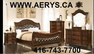 WHOLESALE FURNITURE WAREHOUSE  LOWEST PRICE GUARANTEED WWW.AERYS.CA or call 4167437700