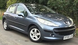 Peugeot 207 1.4 SE 5dr Hatchback With Alloy Wheels & Panoramic Sunroof MOT MARCH 2019 Cheap 2 Run