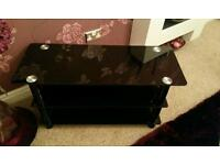 Tv stand black brand new