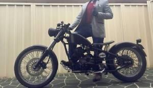 Learner Approved CUSTOM BOBBER Cleveland Cyclewerks Heist 2014