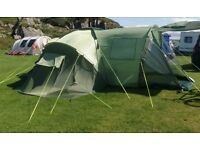 Urban Escape Kurai 6 person family tent - Excellent condition only used twice.