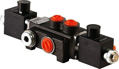 1 Spool Hydraulic Solenoid Directional Control Valve 13gpm 12v Sae Ports 1z50