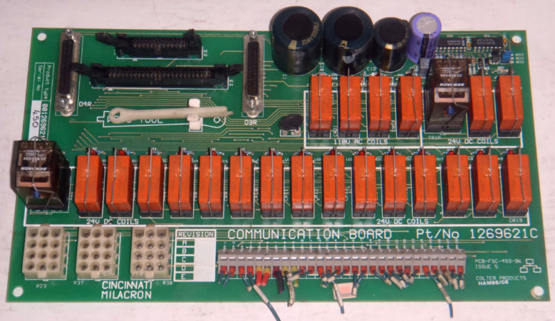 Cincinnati Circuit Board 1269621C _PCB-FSC-493-96 Issue 5