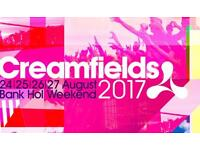 4 day standard camping ticket to creamfeilds
