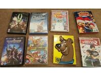 DVD Collection - Scooby doo, Guardians of the Galaxy, Phineas & Ferb, 9 and others