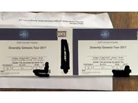 Diversity Tickets Block C1- Near the front