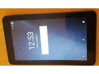 "MIKONA 7"" Tablet 8GB Android 7 NOUGAT QUAD CORE Touch Screen Bluetooth - Black, used for sale  Stratford, London"