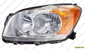 Head Lamp Driver Side Base/Limited Model (Japan Built) High Quality Toyota Rav4 2009-2012