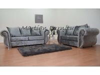 BRAND NEW WINDSOR 3 SEATER + 2 SEATER SOFA SET - FAST U.K DELIVERY