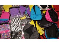 TAGGER BACKPACKS BUILD YOUR OWN BAG JOB LOT WHOLESALE 13 BACKPACKS AND 28 FRONTS