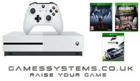 Brand New Xbox One S 500GB Console with Prey Call of Duty: WWII & Forza 7 for just £279.99!