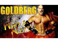 An Evening With Goldberg * Jackhammer Package*