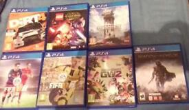 PS4 games in perfect working order