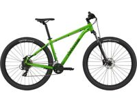 Brand new still boxed cannondale Mountain bike trial 7 2021 size large