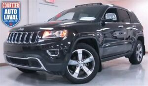 2015 Jeep Grand Cherokee Limited AWD - NAV - CUIR - TOIT - CAM