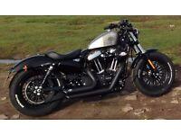 Harley Davidson Sportster Forty Eight (2016 Model - 65 Plate)