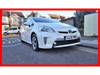 Plug-in --- 2013 Toyota Prius 1.8 VVT-i PHEV --- Plug-in Hybrid CVT --- LETHAER Seats --- PCO Prius