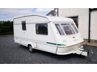 1997 Elddis hurricane ex300 top spec caravan