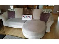 Dfs sofa 2 and 3 seater lounger sofa