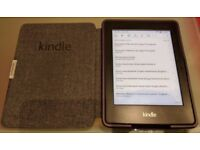Kindle Paperwhite with cover (used)