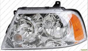 Head Light Passenger Side Halogen High Quality (Fo2503209) Lincoln Navigator  2003-2006