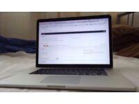 Top Spec Macbook Pro Retina 15GB; 2.7GHZ 16GB 500GB SSD - screen tearing