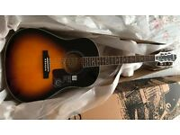 Epiphone solid top acoustic guitar