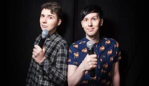 Dan & Phil Tickets | Last Minute Delivery Guaranteed!