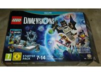 wii u lego dimensions like new