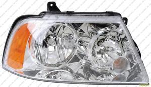Head Lamp Driver Side Halogen High Quality Lincoln Navigator  2003-2006