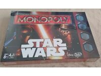 Star Wars Ep 7 Monopoly New and Sealed