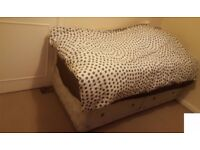 single clean and tidy Box bed for Sale