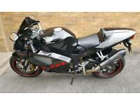 Honda vtr sp2 2007 FSH black