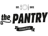 The Pantry is looking for a CDP, immediate start. Bistro experience preferred.