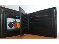 Armani black wallet new unused